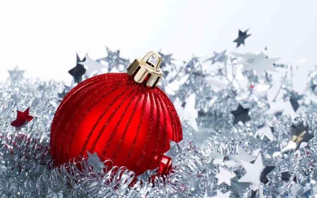 colores de la Navidad